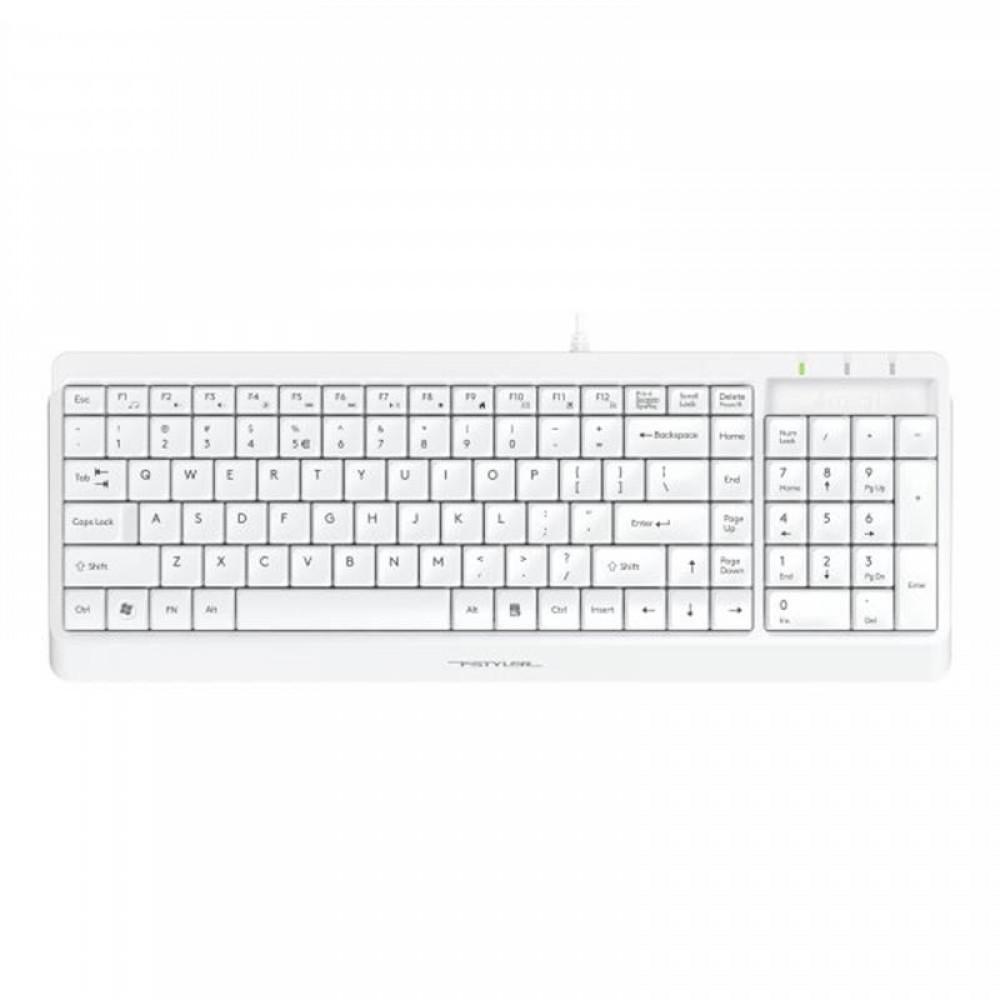 Клавиатура A4Tech Fstyler FK15 White USB