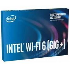 Сетевой адаптер Intel AX200 (AX200.NGWG.DTK) (WiFi6, AX2400, BT 5.2, M.2 2230, 2хвнешние антенны)