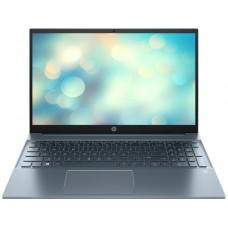 """Ноутбук HP Pavilion 15-eg0019ur (398N4EA); 15.6"""" FullHD (1920x1080) IPS LED матовый / Intel Core i7-1165G7 (2.8 - 4.7 ГГц) / RAM 8 ГБ / SSD 512 ГБ / nVidia GeForce MX450, 2 ГБ / нет ОП / Wi-Fi / BT / веб-камера / DOS / 1.75 кг / синий / подсветка кла"""