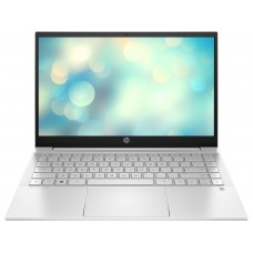 "Ноутбук HP Pavilion 14-dv0043ua (425R8EA) 14"" FullHD (1920x1080) IPS LED матовый / Intel Pentium 7505 (2.0 - 3.5 ГГц) / RAM 4 ГБ / SSD 256 ГБ / Intel UHD Graphics / нет ОП / Wi-Fi / BT / веб-камера / DOS / 1.41 кг / серебристый / подсветка клавиатуры"
