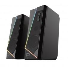 Акустическая система Trust GXT 609 Zoxa RGB Illuminated Set Black (24070)