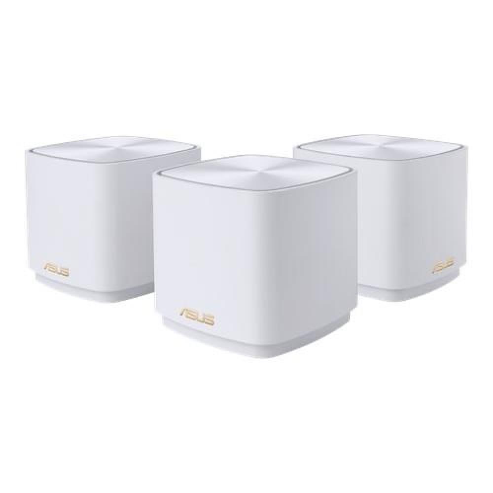 Беспроводной маршрутизатор Asus ZenWiFi XD4 3PK White (AX1800, 1xGE LAN, 1xGE WAN, 2 антенны) (XD4-3PK-WHITE)