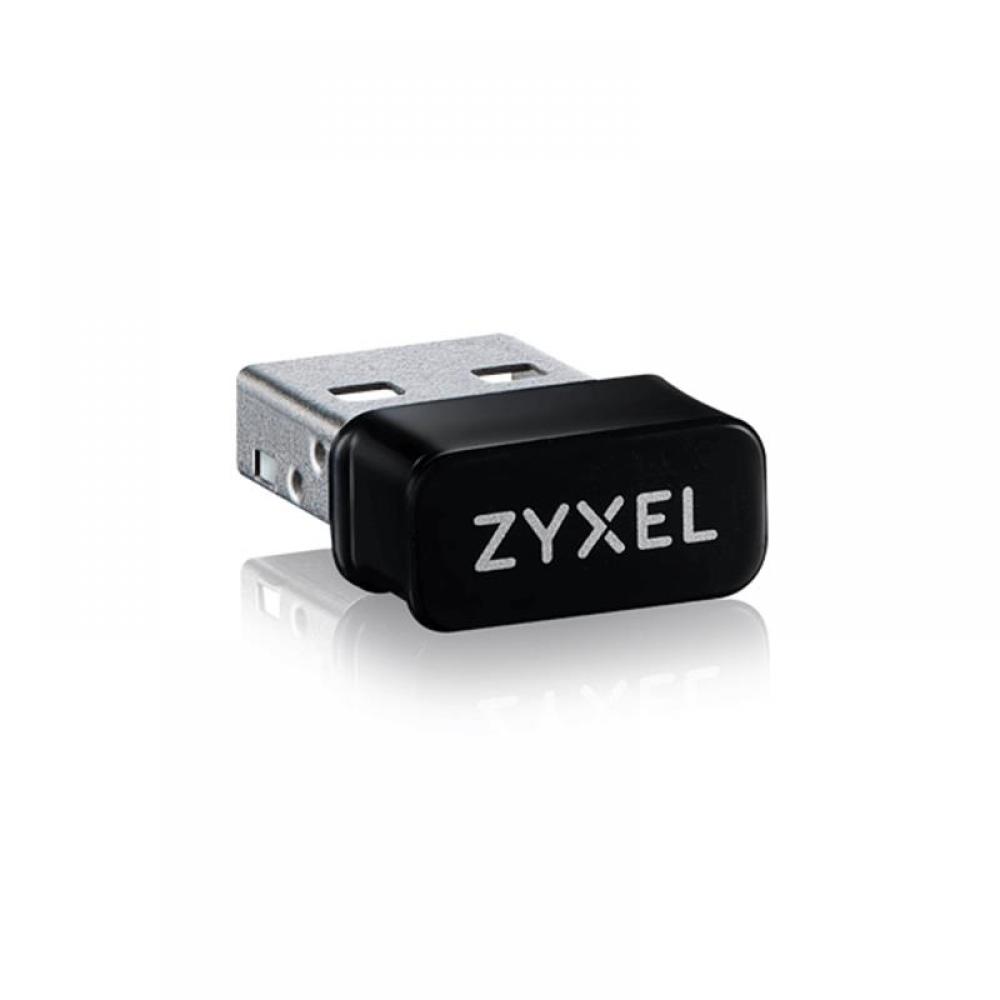 Беспроводной адаптер ZYXEL NWD6602 (NWD6602-EU0101F) (AC1200, 1xUSB2.0, WPA3, nano)
