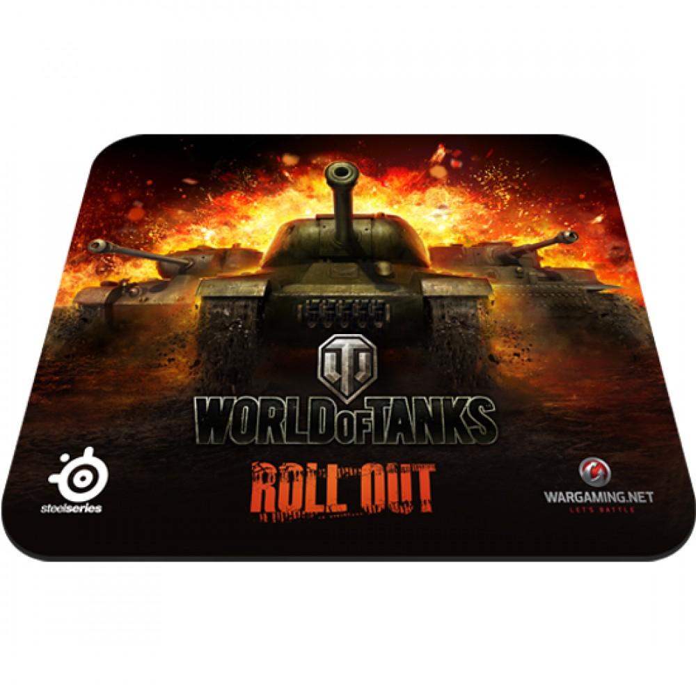 Игровая поверхность SteelSeries QcK World of Tanks Edition (67269)