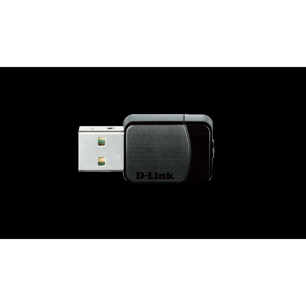 Беспроводной адаптер D-Link DWA-171 (802.11ac, AC600)