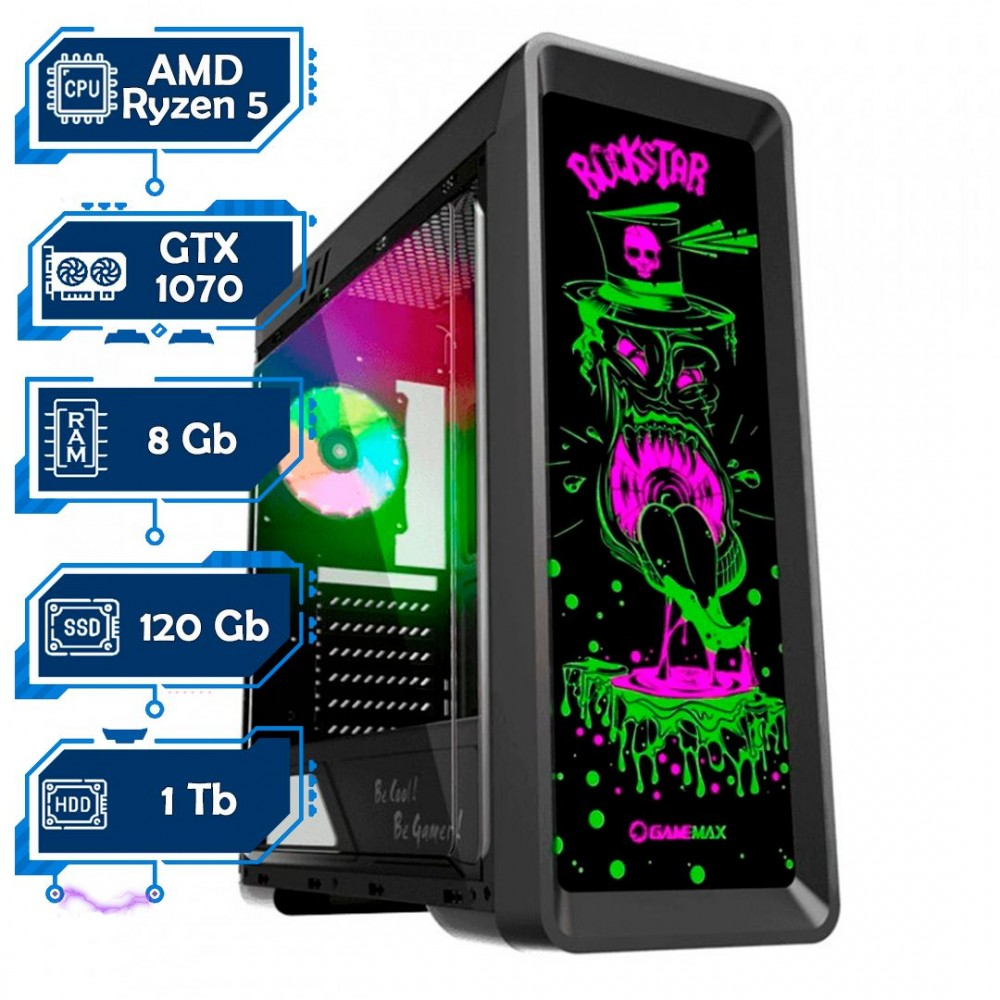 Игровой компьютер Дон Кармани NG Ryzen 5 1600 G4