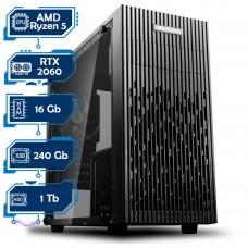 Игровой компьютер Дон Кармани NG Ryzen 5 5600X D2